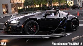 getlinkyoutube.com-Unloading a Bugatti Veyron Grand Sport Vitesse Black Bess