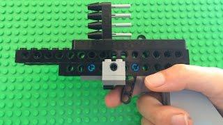 Working semi automatic Lego pistol!