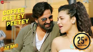 getlinkyoutube.com-Coffee Peetey Peetey Full Video - Gabbar Is Back  | Akshay Kumar & Shruti Haasan