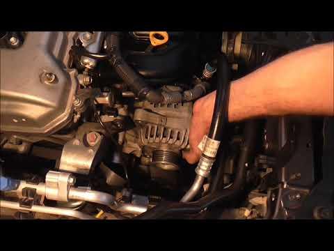 2007-2013 Toyota Corolla замена генератор generador de reemplazo Yiannis Pagonis