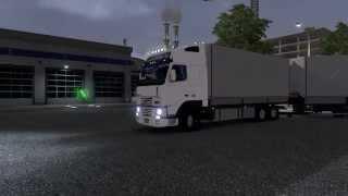 getlinkyoutube.com-Volvo FH12 Tandem + Interior + Addons v1.14 ETS2 Mod
