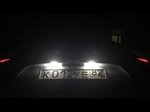 LED подсветка номерного знака для Ford KUGA 2017