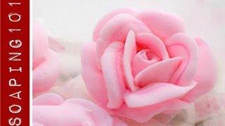 getlinkyoutube.com-How to make cold process soap roses