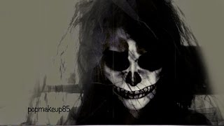 getlinkyoutube.com-Halloween Tutorial Scheletro FACILE