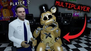 Ultimate Custom Night MULTIPLAYER...(Five Nights at Freddy's Roleplay)