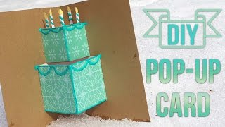 getlinkyoutube.com-How To Make A Simple Pop-Up Birthday Card 🎂