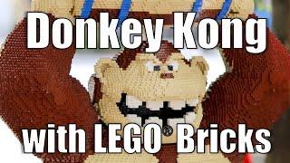 getlinkyoutube.com-Building Donkey Kong with LEGO Bricks