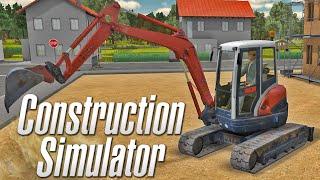 Construction Simulator 2012 - Mini Escavadeira