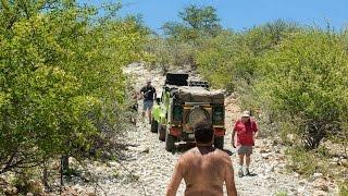getlinkyoutube.com-Namibia 4x4 - D 3700 along Kunene River is not for Trailers