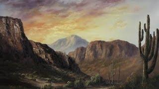 getlinkyoutube.com-Paint with Kevin Hill - Sunlight Across the Desert
