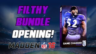 getlinkyoutube.com-Game Changer Bundle Opening! | Madden 16 Ultimate Team - 24 Hour Golden Tate