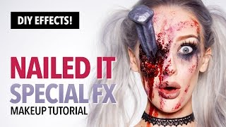 getlinkyoutube.com-Nailed It Special FX Makeup And Prop Tutorial