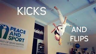 Técnicas de exhibiciones en Taekwondo
