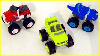 getlinkyoutube.com-ALL-NEW Blaze and the Monster Machines Color Mix-Up Game for Kids Children & Toddlers