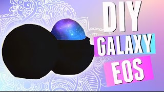 getlinkyoutube.com-DIY Galaxy EOS | Make a REAL GALAXY EOS Lip Balm! 2015