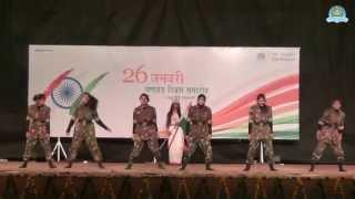 getlinkyoutube.com-Salam India Group Dance by DSVV Sanskriti Kalaa Group on 26 January 2015 film by awgp spark