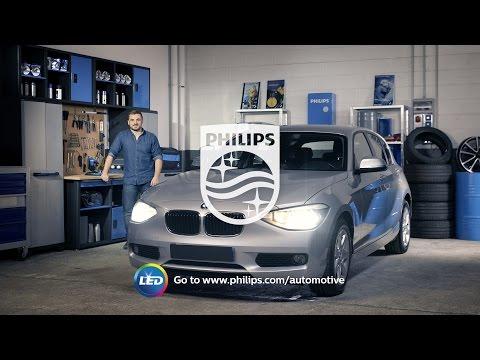 PHILIPS УЧЕБНИК - Как заменить головное освещение на вашем BMW 1-Series на светодиодные лампы
