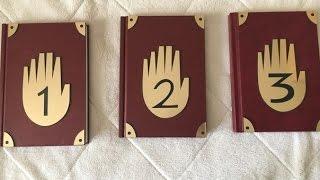 getlinkyoutube.com-Обзор на все дневники из гравити фолз I 1,2,3 дневники
