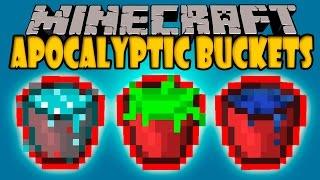 getlinkyoutube.com-APOCALYPTIC BUCKETS MOD - Fin del Mundo en Minecraft! - Minecraft mod 1.7.10 Review ESPAÑOL