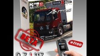 getlinkyoutube.com-[ETS2 v1.17.1] Mercedes Antos v0.7.1.117