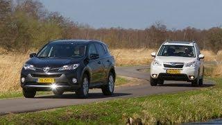 getlinkyoutube.com-Toyota RAV4 vs. Subaru Forester
