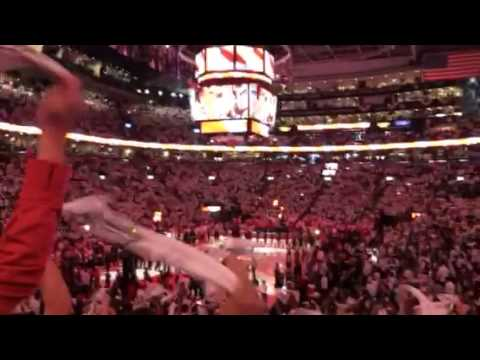 Toronto Raptors Playoffs - Game 1 - Canadian National Anthem