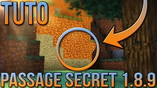 PASSAGE SECRET 1.8.9 | Minecraft