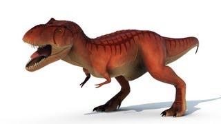 getlinkyoutube.com-Dino Damage - T-rex Animation