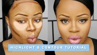 getlinkyoutube.com-Full Makeup with Highlight & Contour Tutorial | Edee Beau