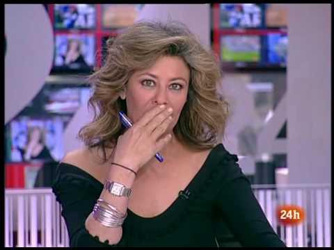 Presentadora haciendo tonterias pillada in fraganti ( Beatriz Pérez Aranda )