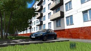 getlinkyoutube.com-City Car Driving 1.5.1 Renault Megane II Sedan (With Custom Sound)