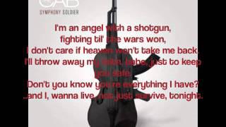 Angel With A Shotgun - The Cab (Lyric Video)