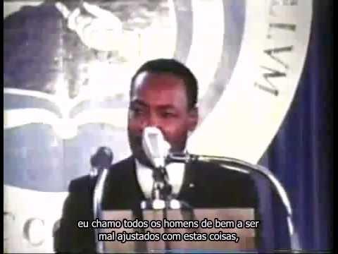 Martin Luther King - Orgulhoso de ser Mal Ajustado (Legendado)