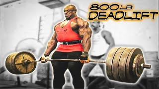 getlinkyoutube.com-Ronnie Coleman 800lb Dead Lift HD