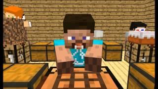 getlinkyoutube.com-[Minecraft animation] Minecraft player School - Crafting