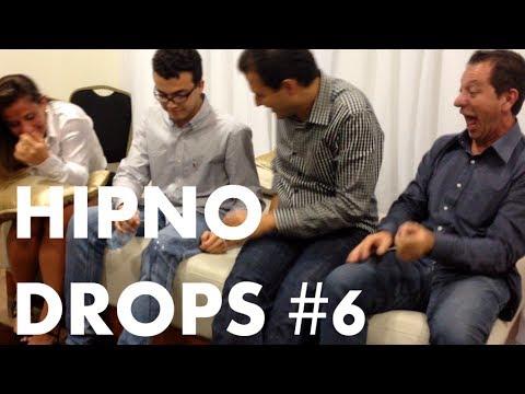 HipnoDrops #6 - Risonho dorminhoco e o amigo que bebe água pelo joelho... (hipnose)