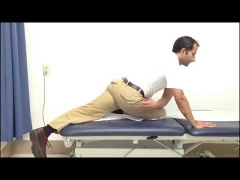 Hip stretch exercise piriformis flexibility