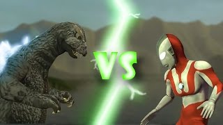 getlinkyoutube.com-Godzilla vs Ultraman (Gmod Animation)