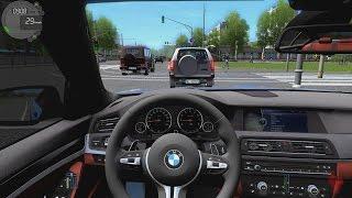 getlinkyoutube.com-City Car Driving - BMW M5 F10