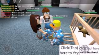 getlinkyoutube.com-Roblox : Be a baby in daycare new update! :D