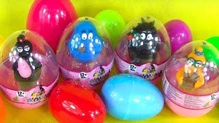 getlinkyoutube.com-Barbapapa Toys Suprise Eggs! toys for kids! FUN! Unboxing!