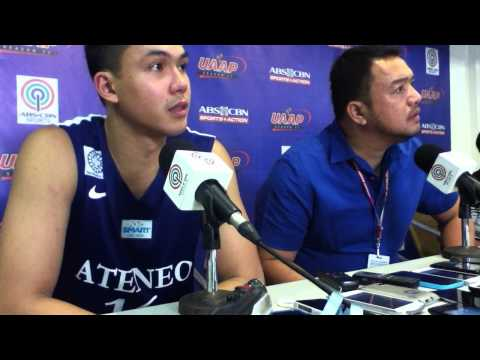 UAAP Season 77 Post-match Press Conference - Ateneo vs La Salle (July 20)