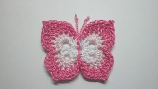 getlinkyoutube.com-How To Make a Lovely Crochet Butterfly - DIY Crafts Tutorial - Guidecentral
