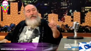 getlinkyoutube.com-O Τζίμης Πανούσης στο The 2night Show [ΟΛΟΚΛΗΡΟ]