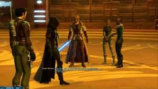 getlinkyoutube.com-SWTOR Sith Warrior - Class quest: Battle Organa (Alderaan)