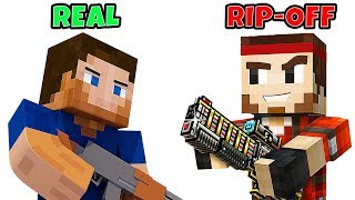 10 Video Games That RIPPED OFF Minecraft