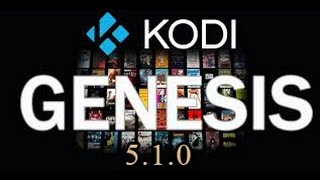 getlinkyoutube.com-Genesis Update 5.1.0 Kodi/XBMC