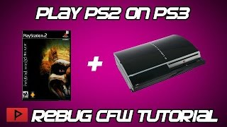 getlinkyoutube.com-[How To] Play PS2 Games on Rebug CFW CEX PS3 (Wireless Sync Works, Long Tutorial)