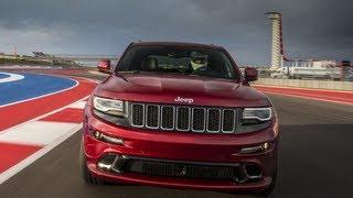 getlinkyoutube.com-2014 Jeep Grand Cherokee SRT tears up the Formula 1 Race Track in Austin, TX: Jeep week video # 3