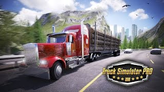 getlinkyoutube.com-Truck Simulator PRO 2016 - iOS & Android trailer
